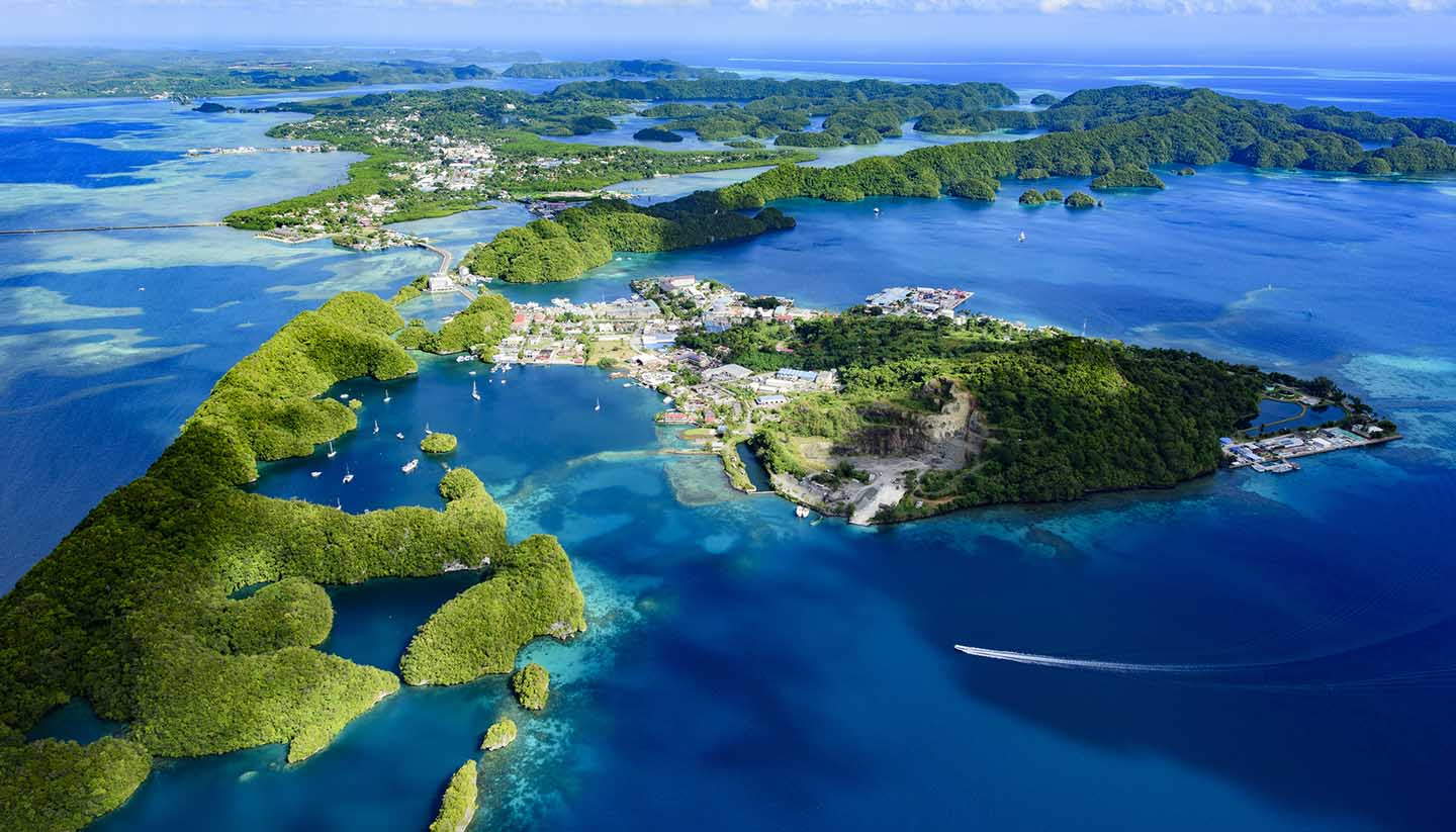 Palau gladly welcomes blockchain