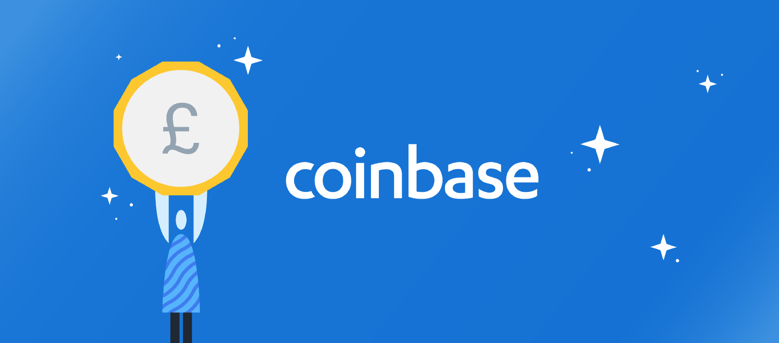 Coinbase added British pound to a list of available fiat currencies