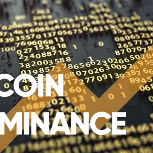 The Bitcoin Dominance Index has updated a maximum of 2018.