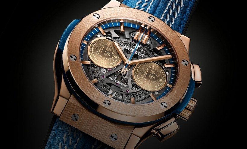 In honor of the 10th anniversary of Bitcoin, Hublot will launch a limited edition watch series.